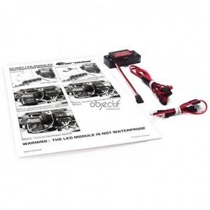 Kit phares pour Carisma GT10DT DESERT CA15150