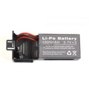 Batterie LiPo 3,7V 1000mAh pour SPYRIT ADVANCE et EXPERT T2M