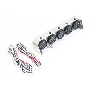 Barre de 5 feux 18 mm LED pour voiture RC FAST306-3