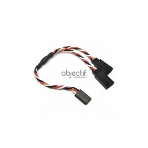 Câble 30 cm extension Y pour 2 kits feux LED