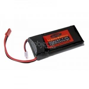 Batterie LiPo 2S 7,4V 850mAh 15C DYNAM