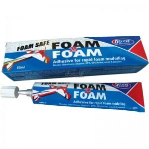 Colle FOAM 2 FOAM pour les avions en mousse 50 ml