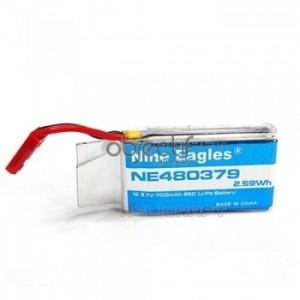Batterie LiPo 1S 3,7V 700mAh Nine Eagles