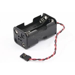 Boitier d'alimentation RX avec connecteur FUTABA