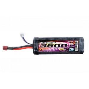 Batterie LiPo 2S 7,4V 3500mAh 25C HARD CASE T2M pour voiture