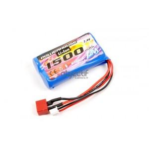 Batterie Li-ion 7,4V 1500mAh T2M