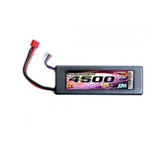 Batterie LiPo 2S 7,4V 4500mAh 25C HARD CASE T2M pour voiture