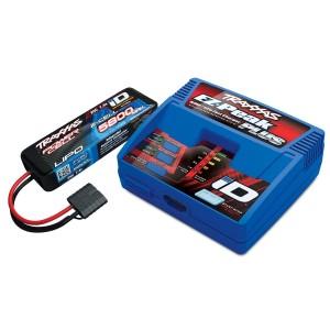Pack chargeur EZ Peak PLUS 2970G + 1 X LiPo 2S 5800mAh 2843X prise TRAXXAS 2992G