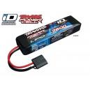 Batterie LiPo 2S 7,4V 7600mAh 25C ID pour voiture TRAXXAS