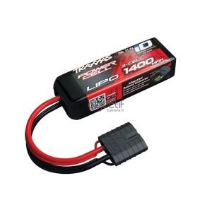 Batterie LiPo 3S 11,1V 1400mAh 25C ID pour voiture TRAXXAS 2823X