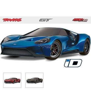 FORD GT 4-TEC 2.0 SANS ACCUS/CHARGEUR 1/10 4WD 2,4Ghz TRAXXAS 83056-4