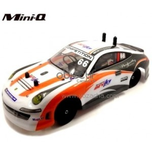 Mini-Q 1/28 PORSCHE 2,4Ghz 4WD DRIFT COMPATIBLE KYOSHO Mini-Z.