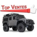 TRX-4 LAND ROVER DEFENDER GRIS 1/10 4WD WIRELESS ID TRAXXAS 82056-4-S