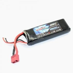 Batterie LiPo 2S 7,4V 1300mAh 25C FTX