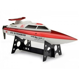 Bateau Fast Wave F1 STINGRAY Racing Boat rouge RTR 350MM
