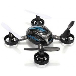 JXD 388 mini drone 6 axes avec GYRO 2,4 Ghz noir RTF MODE2