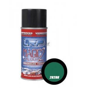 Bombe de peinture vert metal LRP 28206