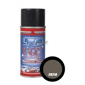 Bombe de peinture graphite metal LRP 28210