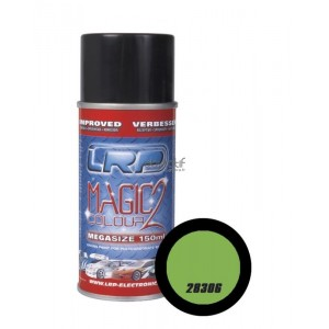 Bombe de peinture vert lumineux LRP 28306