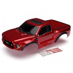 Carrosserie FORD RAPTOR F-150 rouge peinte TRX5826R