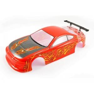 Carrosserie voiture FTX BANZAI peinte (ORANGE)