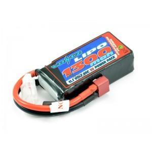 Batterie LiPo 3S 11,1V 1300mAh 30C VOLTZ