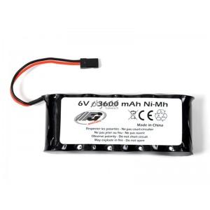 Batterie NiMH 6,0V 3600mAh FG pour réception