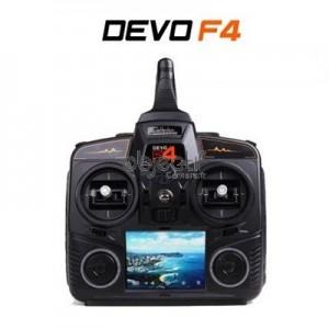 Radiocommande DEVO F4 FPV TX avec RX601 TX5803 caméra MODE1