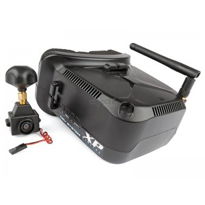 Lunettes FPV TEAM ASSOCIATED XP DIGITAL DSV SYSTEM FPV GOGGLE & CAMERA SET
