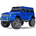 TRX-4 MERCEDES BENZ CLASSE G 500 BLEU 1/10 4WD WIRELESS ID TRAXXAS 82096-4-B