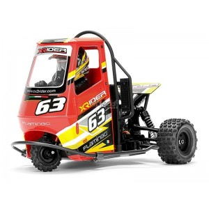 X-RIDER FLAMINGO 1/8 RC TRICYCLE RTR ROUGE