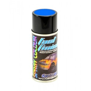 Bombe de peinture bleu rally FASTRAX FAST267