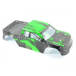 Carrosserie FTX SURGE TRUCK peinte (NOIR/VERT)