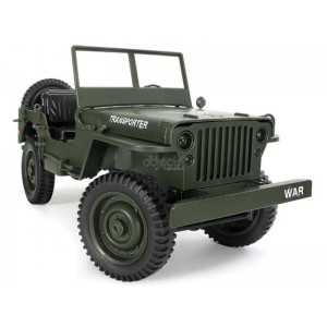 CRAWLER JEEP WILLY'S TRANSPORTER 1/10 4WD 2,4Ghz RTR