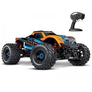 MAXX 4S 1/10 4WD BRUSHLESS WIRELESS ID TSM TRAXXAS 89076-4-ORNG