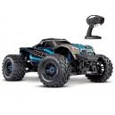 MAXX 4S 1/10 4WD BRUSHLESS WIRELESS ID TSM TRAXXAS 89076-4-BLUE