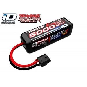 Batterie LiPo 4S 14,8V 5000mAh 25C ID pour voiture TRAXXAS 2888X