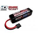 Batterie LiPo 4S 14,8V 5000mAh 25C ID pour voiture TRAXXAS 2889X