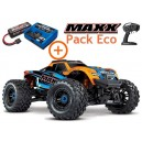 MAXX 4S 1/10 4WD BRUSHLESS WIRELESS ID TSM TRAXXAS AVEC CHARGEUR/BATTERIE