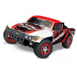SLASH 1/10 4WD 2,4Ghz BRUSHLESS WIRELESS ID TSM TRAXXAS 68086-4-RED