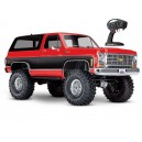 TRX-4 K5 BLAZER ROUGE 1/10 4WD WIRELESS ID TRAXXAS 82076-4-RED