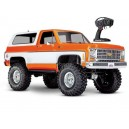 TRX-4 K5 BLAZER ORANGE 1/10 4WD WIRELESS ID TRAXXAS 82076-4-ORNG