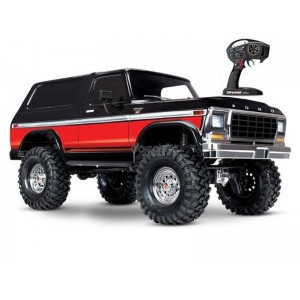 TRX-4 FORD BRONCO ROUGE 1/10 4WD WIRELESS ID TRAXXAS 82046-4-RED