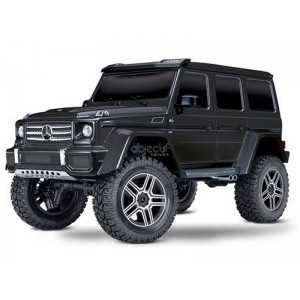 TRX-4 MERCEDES BENZ CLASSE G 500 NOIR 1/10 4WD WIRELESS ID TRAXXAS 82096-4-BLK