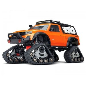 TRX-4 TRAXX ORANGE 1/10 4WD WIRELESS ID TRAXXAS 82034-4-ORNG