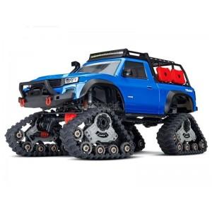 TRX-4 TRAXX BLEU 1/10 4WD WIRELESS ID TRAXXAS 82034-4-BLUE