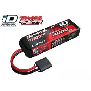 Batterie LiPo 3S 11,1V 4000mAh 25C ID pour voiture TRAXXAS 2849X