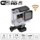 Caméra sport Ultra HD 4K WiFi étanche EASY SILVER 4K