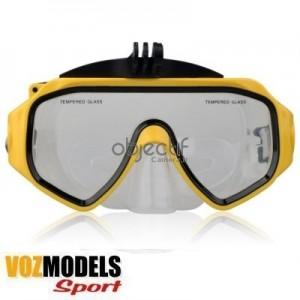 Masque de plongée pour caméras GoPro et VOZMODELS