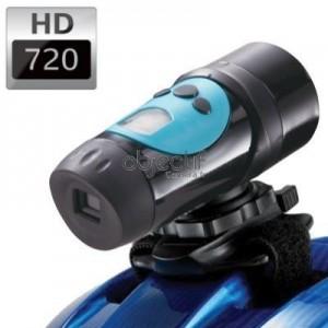Caméra sport étanche OBJECTIF CAMERA HD 720p couleur bleu